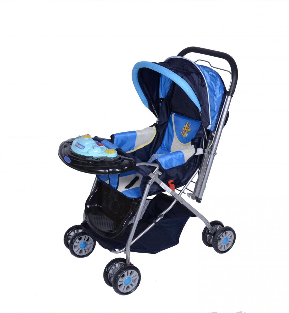 Baby Stroller with Large Storage Area