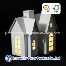 Christmas Paper House with LED Light