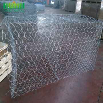 Galvanized+Hexagonal+Stone+Rock+Woven+Gabion+Wire+Mesh