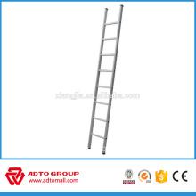 Escalera de andamio popular, escalera recta de 6 m, hecha en escalera de China