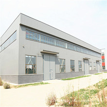Prefabricated Steel Structure Metal Workshop