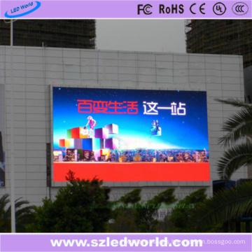 P10 SMD3535 7500CD / M2 Panel de pantalla LED a todo color al aire libre fijo para la publicidad en pared de video