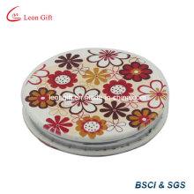 Cuir d'unité centrale fleur miroir cosmétique annonce