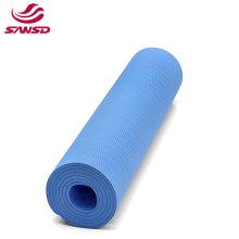 China eco-friendly cheap price EVA soft durablle navy blue custom pattern  non slip custom kids yoga mat