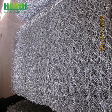 Construction metal wire mesh gabion