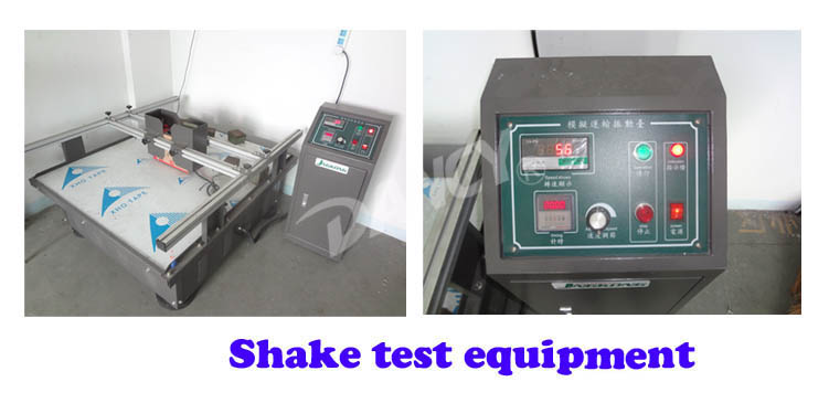 Shake test equipment for welding machine workshop