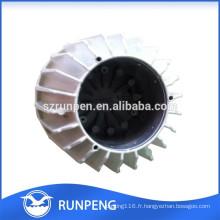 Fabrication Couverture en aluminium de lampe de LED de moulage mécanique sous pression