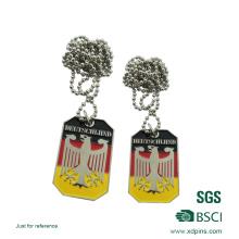 Высокое качество оптовых изготовленных на заказ металлических бирок для собак, сделанных в Китае