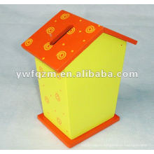 нежная и красивая деревянная коробка для хранения наличных для промотирования