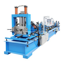 Quick change automatic CZ purlin roll forming machine
