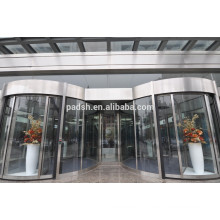 Portes tournantes automatiques extérieures approuvées CE