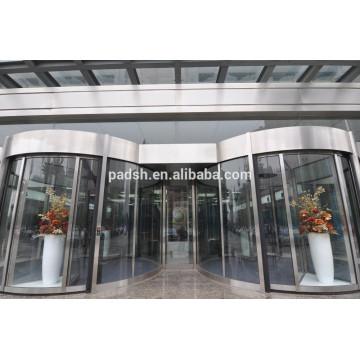 CE zugelassenen kommerziellen Gebäude außen automatische Drehtüren