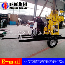 XYX-200 Wheeled Hydraulic Rotary Diamond Rock Core Sample Machine Drilling Rig
