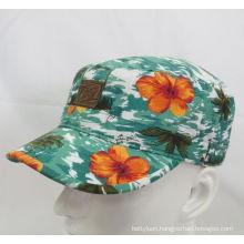 2016 Fashion Floral Military Cap Baseball Cap (MH-080064)