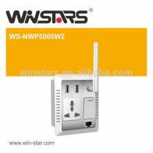 500Mbps High Speed HD Video Streaming Powerline Adapter, Home AV Wand PowerLine Adapter bis zu 300M