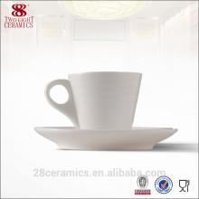 Verre en céramique de chaozhou en gros, ensemble de tasse de café réutilisable