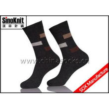 Combed Cotton Comfortable Fashion Man Dress Socks Soft and