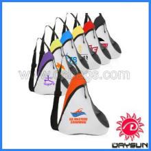 Promotion custom zipper sling strap backpack