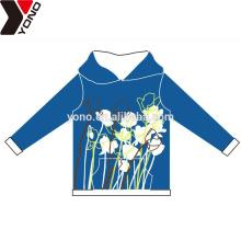 Sudaderas con capucha unisex llanas personalizadas con la flor