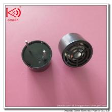 Transmissor e receptor de sensor de ultra-som de tipo aberto em alumínio