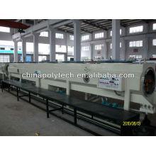 HDPE suministro de agua y máquina de extrusión de tubos de suministro de gas