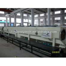 HDPE water supply and gas supply pipe extrusion machine