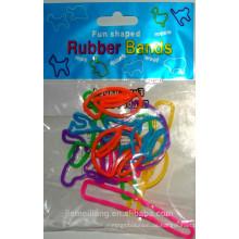JML Gute Qualität Spaß Gummiband Tier Form Gummiband mit verschiedenen Farbe