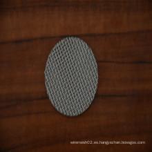 Malla de filtro de metal sinterizado de acero inoxidable