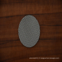 Mesh à filtre en métal fritté en acier inoxydable