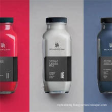 Wholesale Custom Different Models Large Capacity Glass Beverage Bottle with Lid