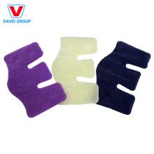Confortável Flocking PVC Shoulder Hot Cold Pack