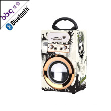 BBQ KBQ-08 10W 800mAh Good Quality Compatible USB Interface Bluetooth Portable Speaker with USB Port