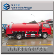 DFAC Rhd LHD 7t Water Tank Simple Fire Fighting Truck