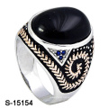 New Arrival 925 Sterling Silver Jewelry Ring with Glass