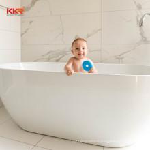 Baby bathtub solid surface soaking bathtub