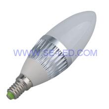4W E17 Edison Warm white  LED Candles
