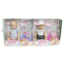 906013147 brinquedo da menina, boneca bonito para o bebê, boneca de 17 polegadas