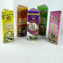 China Factory Wholesale Caixas de metal hermético Chá Tins Tea Tin