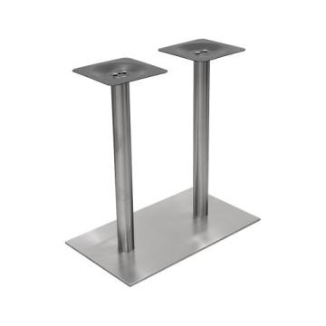Soporte de base de acero inoxidable ISO 9001 con conector de tubo