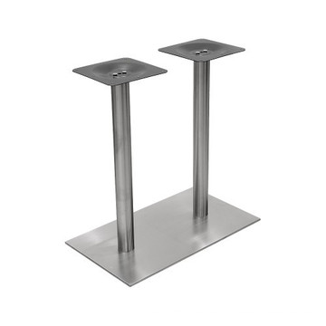 ISO 9001 Stainless Steel Base Support with Tube Connector