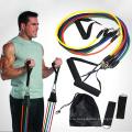 11 шт сопротивление группы установить Йога Пилатес АБС фитнес-упражнения трубка тренировки группы