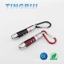 Mini Cell Battery Powered Flashlight Laser Light