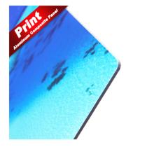 Panel de aluminio compuesto de impresión digital acp para señalización.