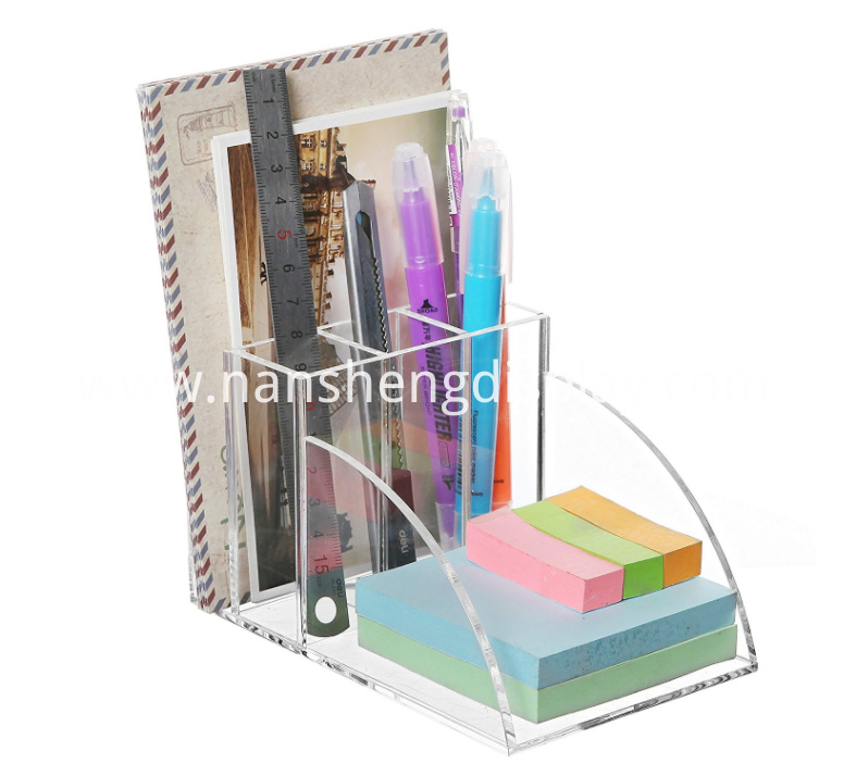 Acrylic Desktop Office Supplies Organizer