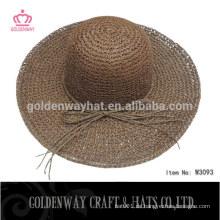 Mode Damen Stroh Strand Floppy Hüte