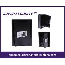 Fixé au mur numérique stockage de sécurité à la maison noir Safe (SMQ48)