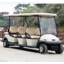 Coche de golf retro antiguo eléctrico de 8 seater 2016