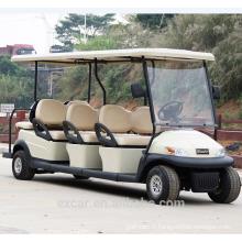 2016 électrique 8 places rétro voiture de golf rétro