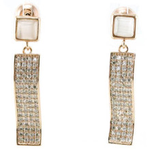 Good Quality & Fashion Jewelry 3A CZ 925 Silver Earring (E6512)