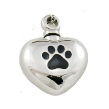 Medical Stainless Steel Heart Memorial Container for Ashes Cremation Jewelry